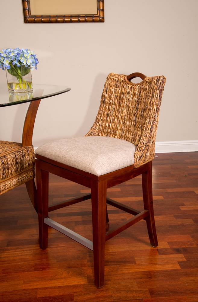 Belize Counter Chair Sienna Finish Alexander