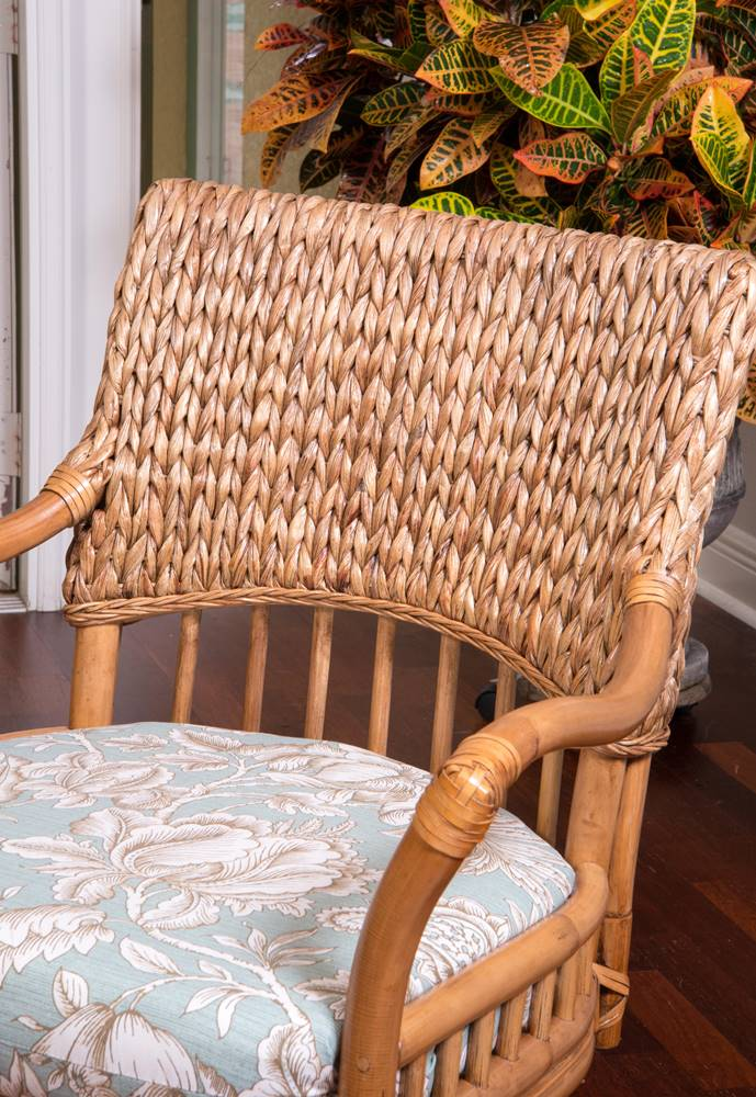 Key Largo Counter Chair Antique Honey Finish Alexander