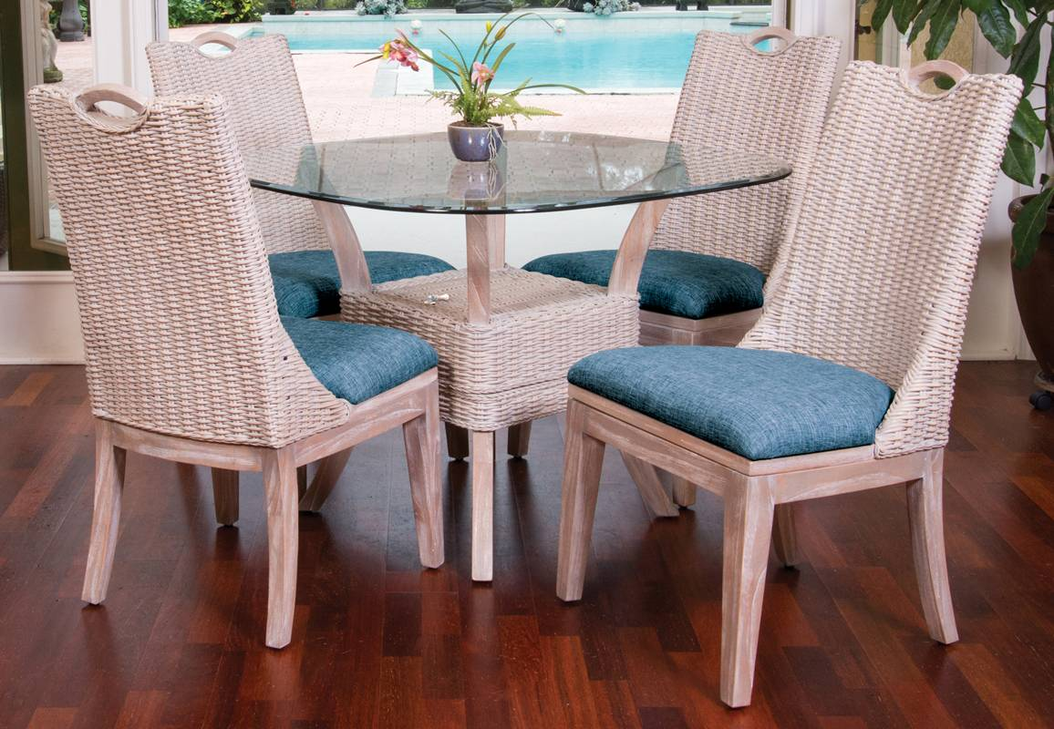 Belize Dining Chair - Rustic Driftwood Finish - Alexander ...