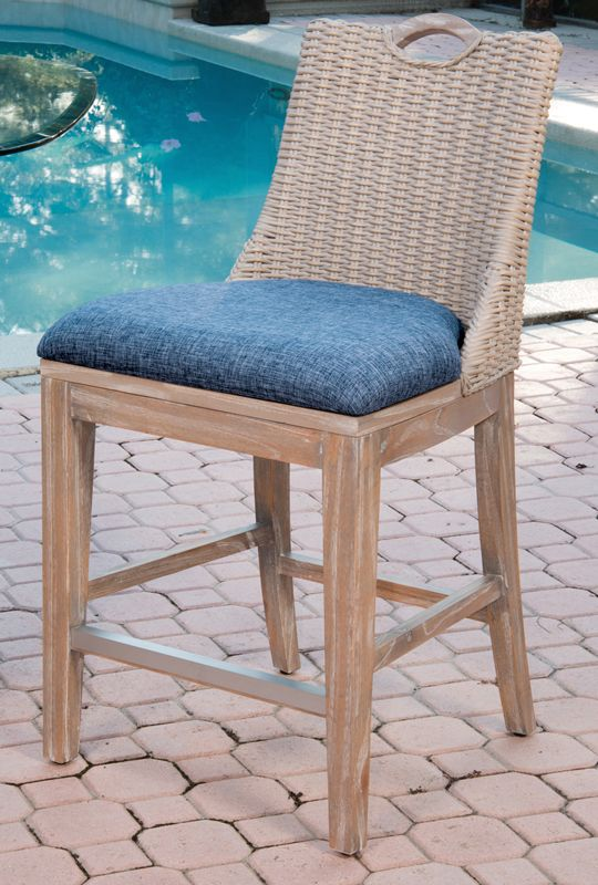 Belize Counter Chair U2013 Rustic Driftwood Finish