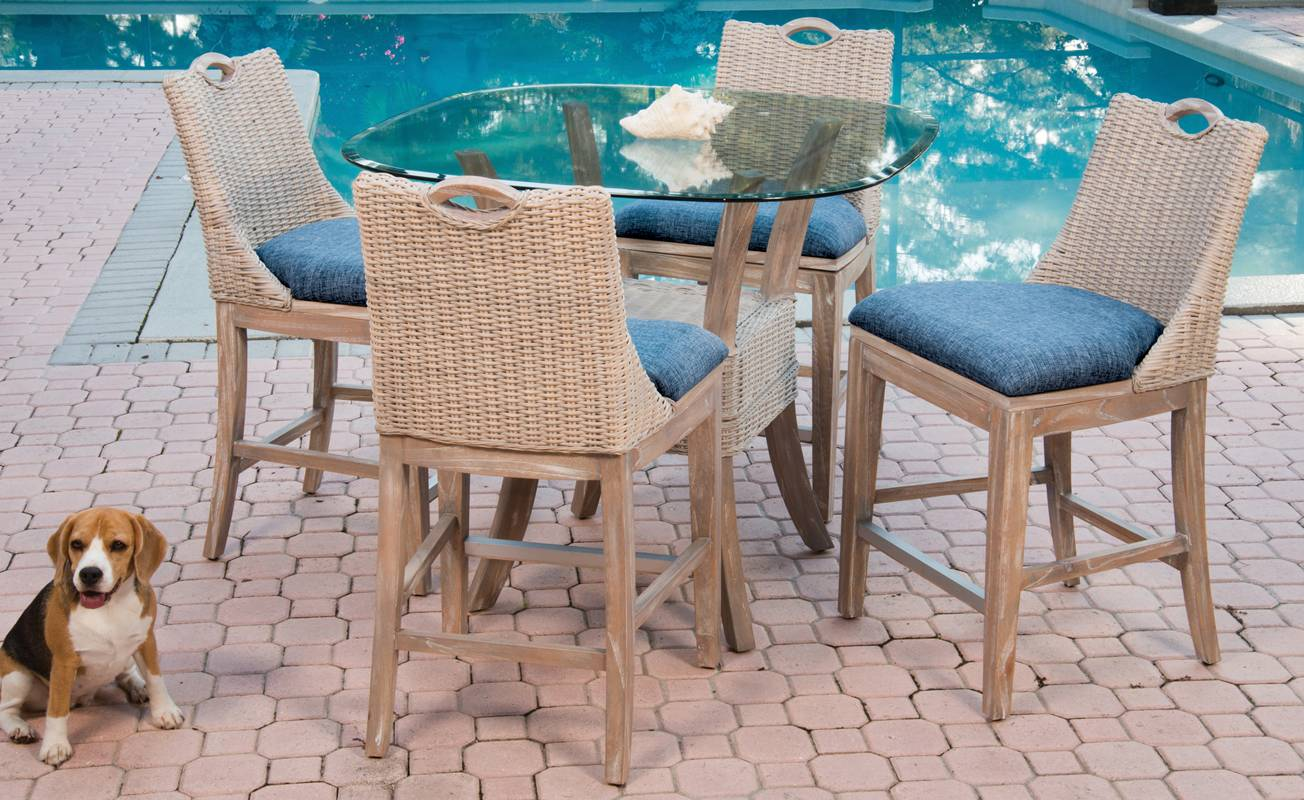 Belize Dining Chair Rustic Driftwood Finish Alexander